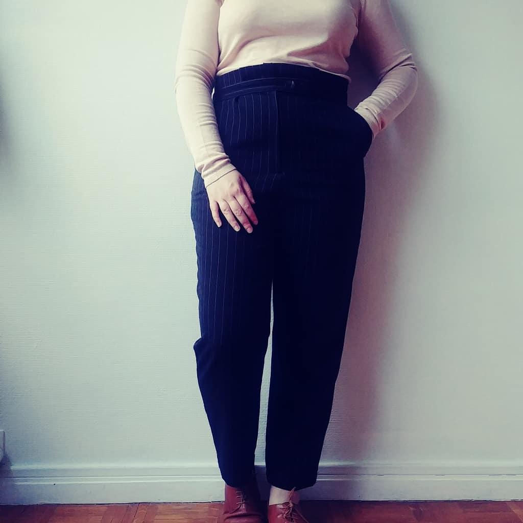 Pantalon Thym Craftine Box automne