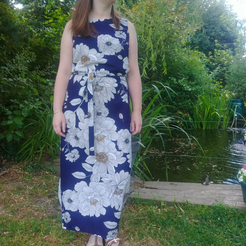 Kielo Wrap Dressed Scuba Crêpe Avril Fabrics