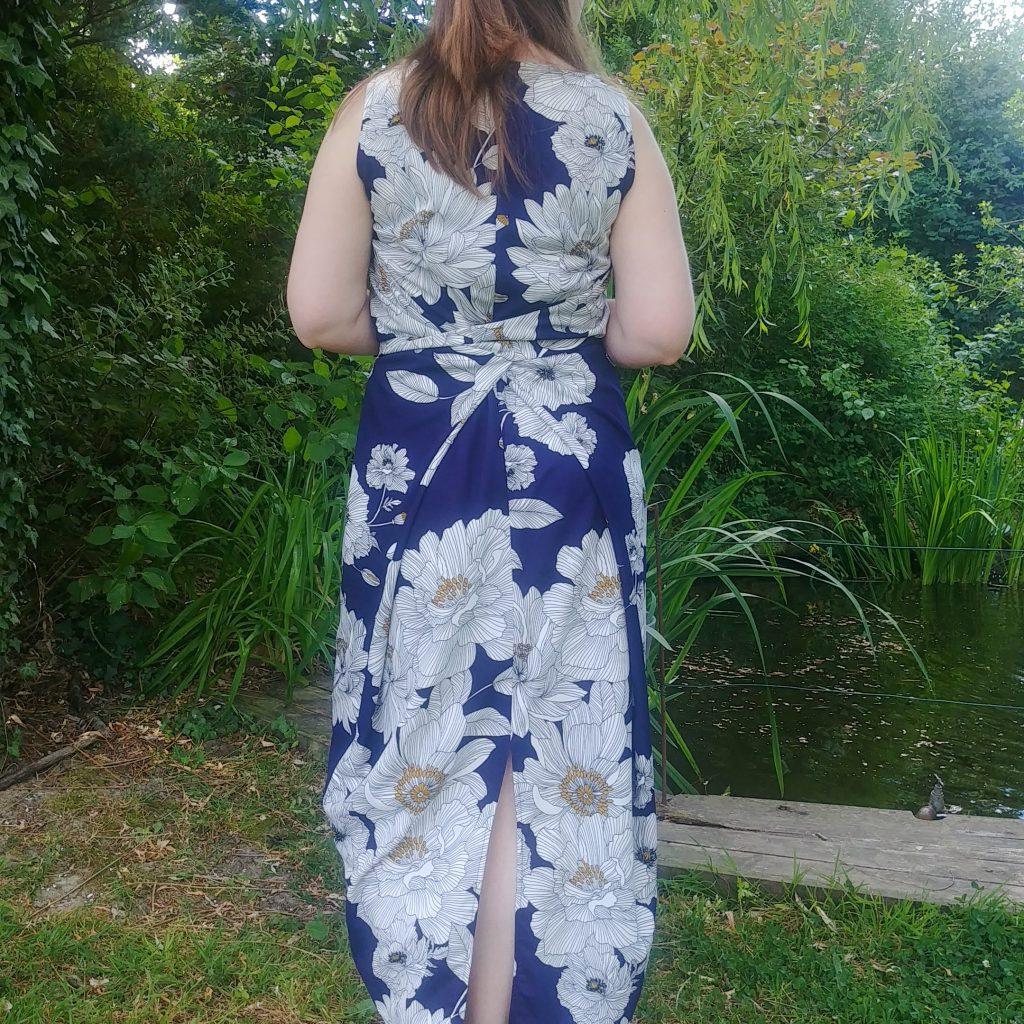 Kielo Wrap Dress Scuba crêpe Avril Fabrics