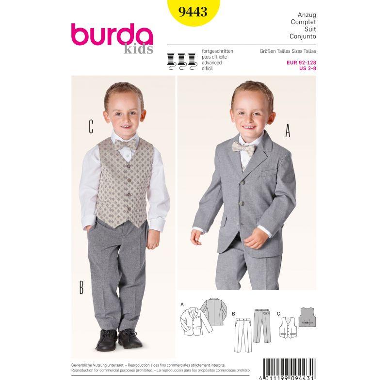 Patron Burda 9443